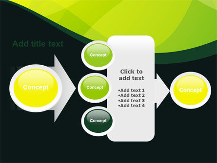 Green Leaf Design PowerPoint Template Slide 17