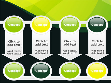 Green Leaf Design PowerPoint Template Slide 18