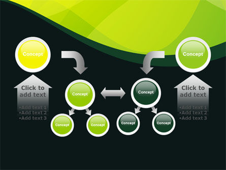 Green Leaf Design PowerPoint Template Slide 19