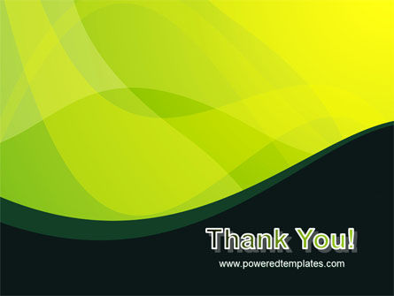 Green Leaf Design PowerPoint Template Slide 20