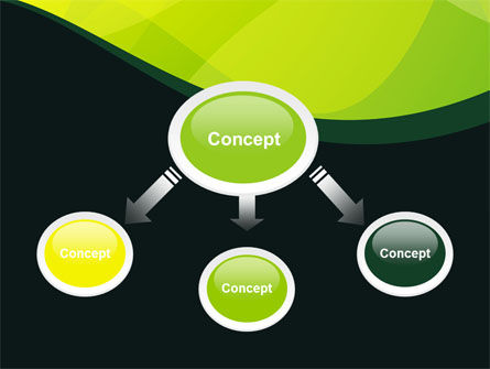 Green Leaf Design PowerPoint Template Slide 4
