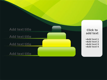 Green Leaf Design PowerPoint Template Slide 8