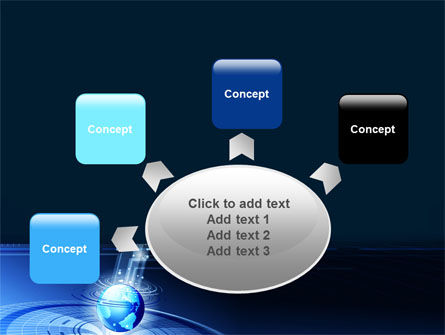 World Center PowerPoint Template Slide 7