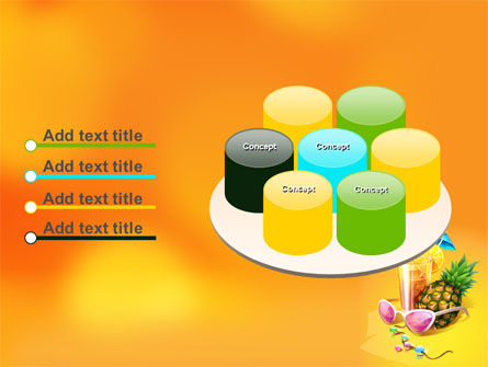 Tropical Vacation PowerPoint Template Slide 12