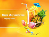 Careers/Industry: Modello PowerPoint - Vacanza tropicale #07626