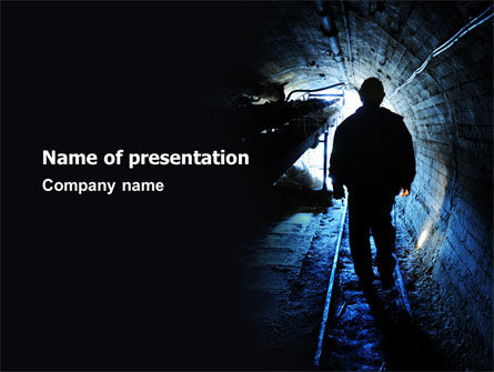 Careers/Industry: Sewerage System PowerPoint Template #07629