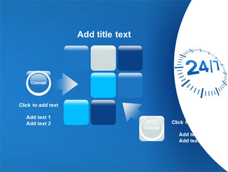 24-7-365 PowerPoint Template Slide 16
