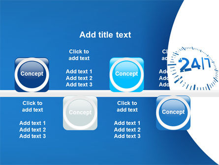 24-7-365 PowerPoint Template Slide 19