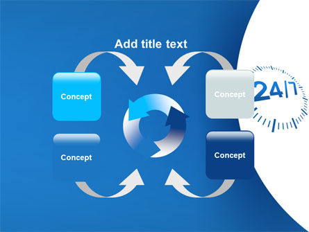 24-7-365 PowerPoint Template Slide 6