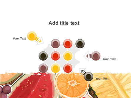 Fruit Pulp PowerPoint Template Slide 10