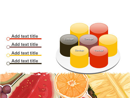 Fruit Pulp PowerPoint Template Slide 12
