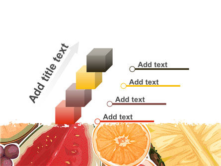 Fruit Pulp PowerPoint Template Slide 14