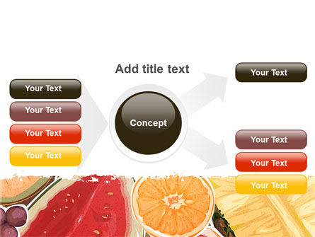 Fruit Pulp PowerPoint Template Slide 15