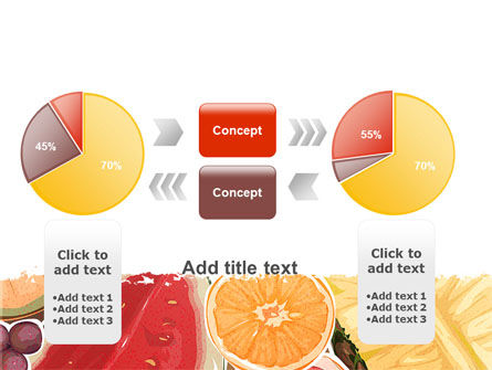 Fruit Pulp PowerPoint Template Slide 16