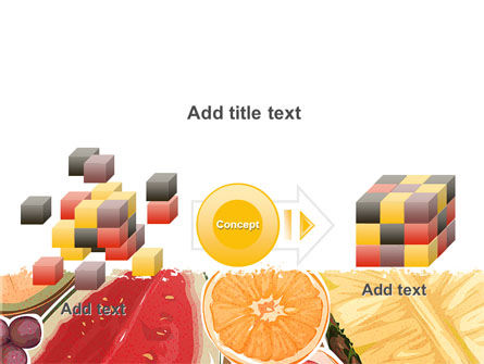Fruit Pulp PowerPoint Template Slide 17