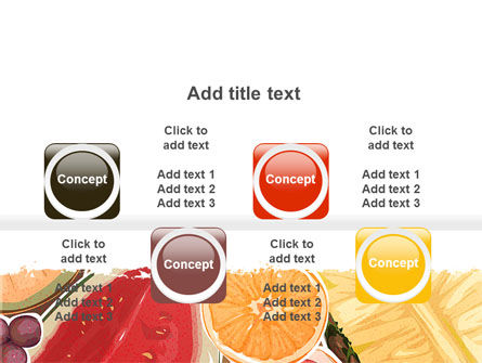 Fruit Pulp PowerPoint Template Slide 18