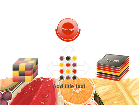 Fruit Pulp PowerPoint Template Slide 19