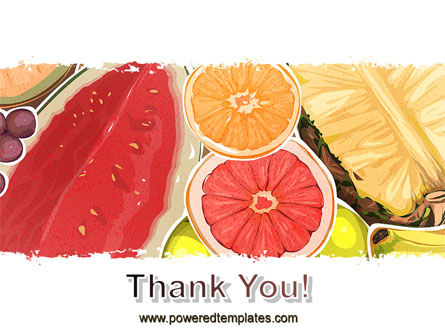 Fruit Pulp PowerPoint Template Slide 20