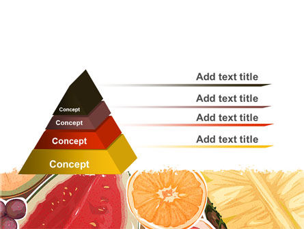 Fruit Pulp PowerPoint Template Slide 4