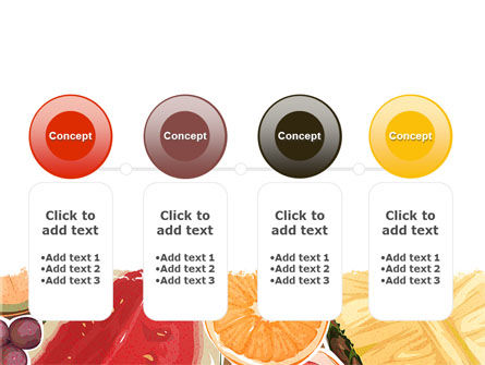 Fruit Pulp PowerPoint Template Slide 5