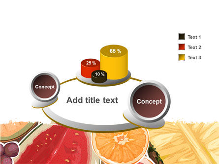 Fruit Pulp PowerPoint Template Slide 6