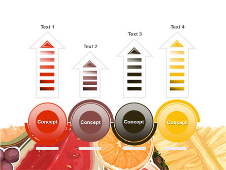 Fruit Pulp PowerPoint Template Slide 7