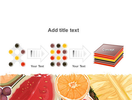 Fruit Pulp PowerPoint Template Slide 9