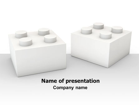 Lego Blocks PowerPoint Template, 07632, Consulting — PoweredTemplate.com