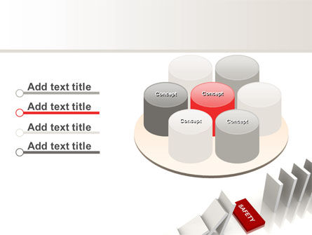 Safety Domino Theme PowerPoint Template Slide 12