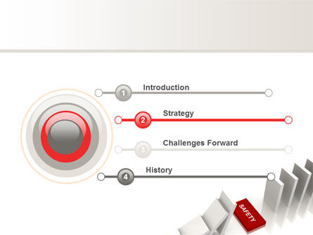 Safety Domino Theme PowerPoint Template, Slide 3, 07633, Business Concepts — PoweredTemplate.com