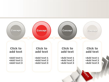 Safety Domino Theme PowerPoint Template Slide 5