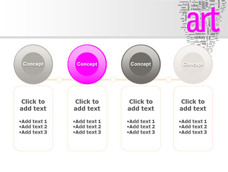 Font Collage PowerPoint Template Slide 5