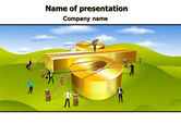 Financial/Accounting: Interest Rate PowerPoint Template #07638