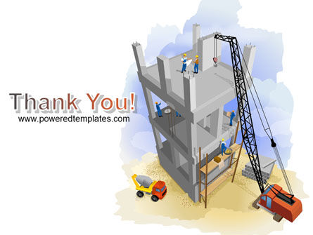Building Site PowerPoint Template Slide 20