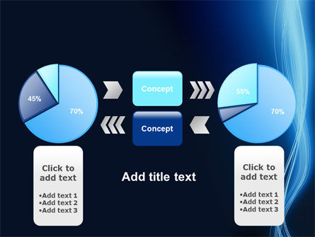 Glowing Threads PowerPoint Template Slide 11