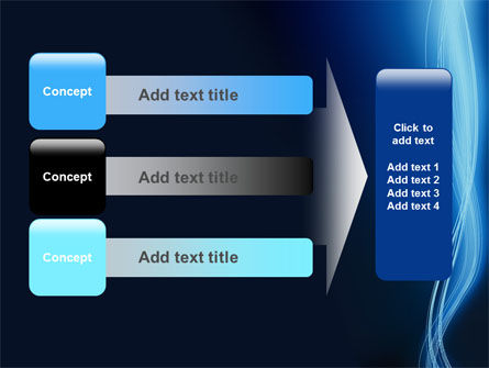 Glowing Threads PowerPoint Template Slide 12