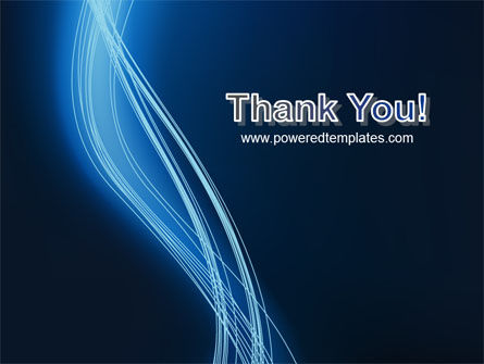 Glowing Threads PowerPoint Template Slide 20