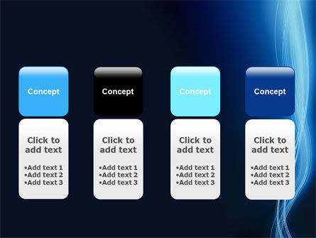 Glowing Threads PowerPoint Template Slide 5