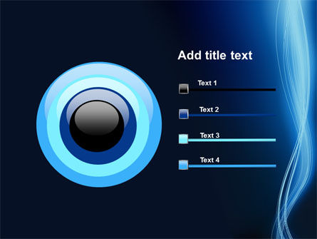 Glowing Threads PowerPoint Template Slide 9