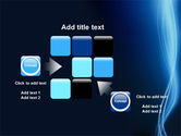 Glowing Threads PowerPoint Template#16