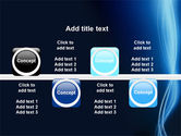 Glowing Threads PowerPoint Template#19
