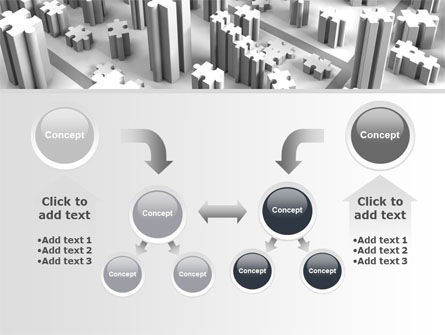 Free Jigsaw City PowerPoint Template Slide 19