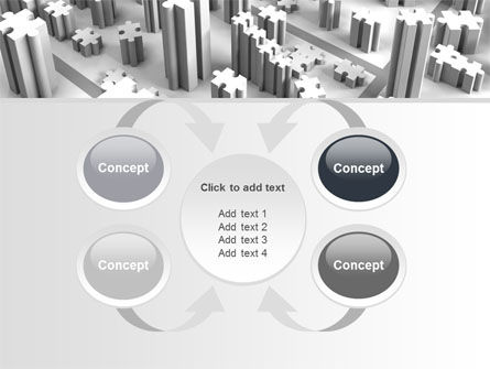 Free Jigsaw City PowerPoint Template Slide 6