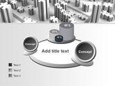 Jigsaw City Free PowerPoint Template#16