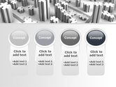 Jigsaw City Free PowerPoint Template#5