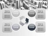 Jigsaw City Free PowerPoint Template#9