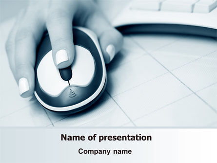 Computers: Online Search PowerPoint Template #07643