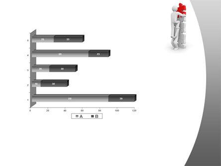 Jigsaw Ladder PowerPoint Template Slide 11