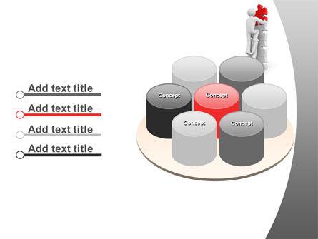 Jigsaw Ladder PowerPoint Template Slide 12