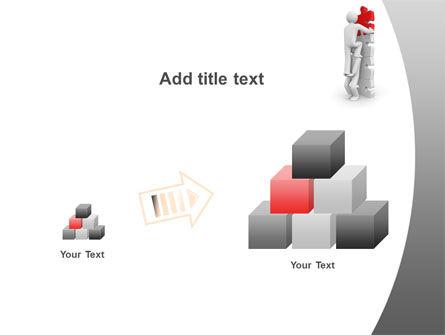Jigsaw Ladder PowerPoint Template Slide 13